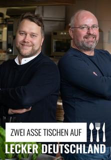 Lecker Deutschland - zwei Asse tischen auf stream