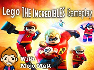Lego The Incredibles Gameplay With Mojo Matt stream
