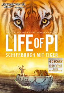 Life of Pi - Schiffbruch mit Tiger stream