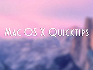 Mac OS X Quicktips stream