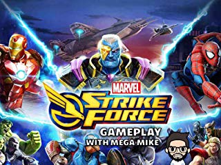 Marvel Strike Force Gameplay With Mega Mike stream