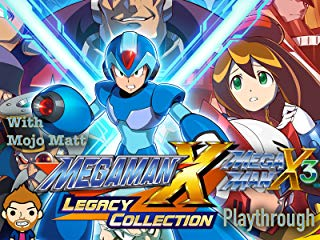 Mega Man X Legacy Collection Mega Man X3 Playthrough With Mojo Matt - stream