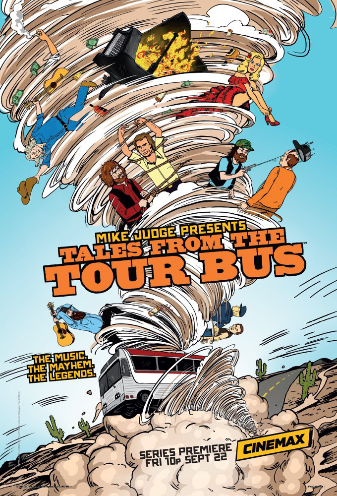 Mike Judge Presents: Tales From the Tour Bus stream