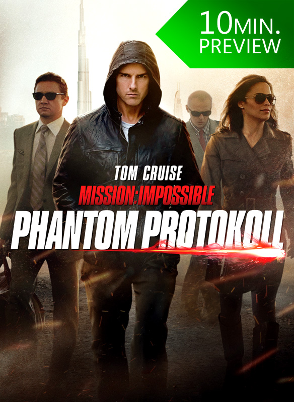 Mission Impossible Phantom Protokoll (10 Minute Preview) - stream