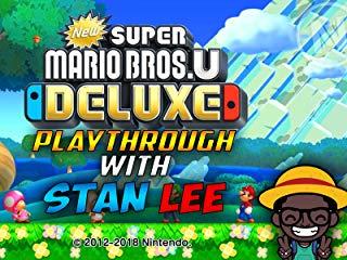 New Super Mario Bros. U Deluxe Playthrough With Stan Lee Stream
