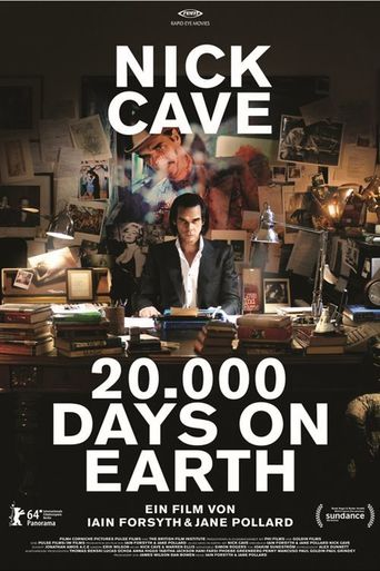 Nick Cave - 20.000 Days on Earth stream