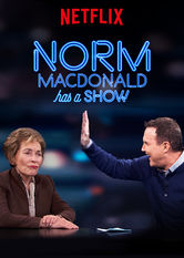 Norm Macdonald Has a Show Stream