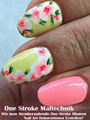 One Stroke Maltechnik: Wie man Atemberaubende One Stroke Flower Nail Art Dekorationen Erstellen? stream