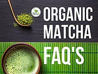 Organic Matcha FAQ's stream