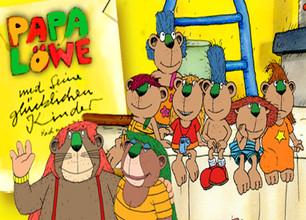 Papa Löwe und seine glücklichen Kinder stream