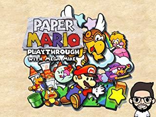 Paper Mario Playthrough With Mega Mike Stream