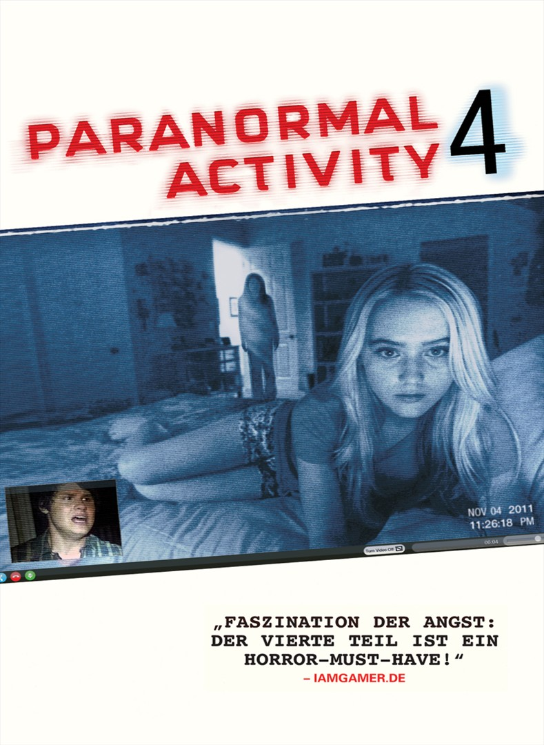Paranormal Activity 4 (10 Min. Preview) stream