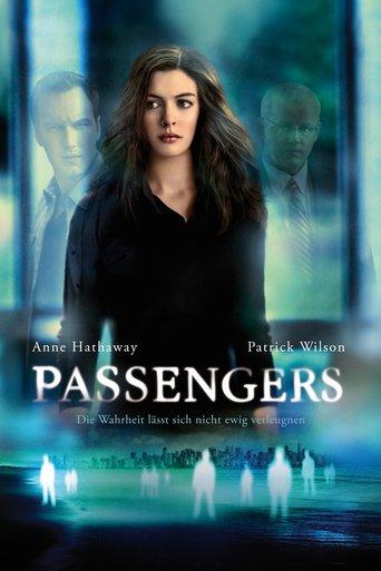 Passengers stream