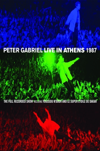 Peter Gabriel - Live In Athens - stream