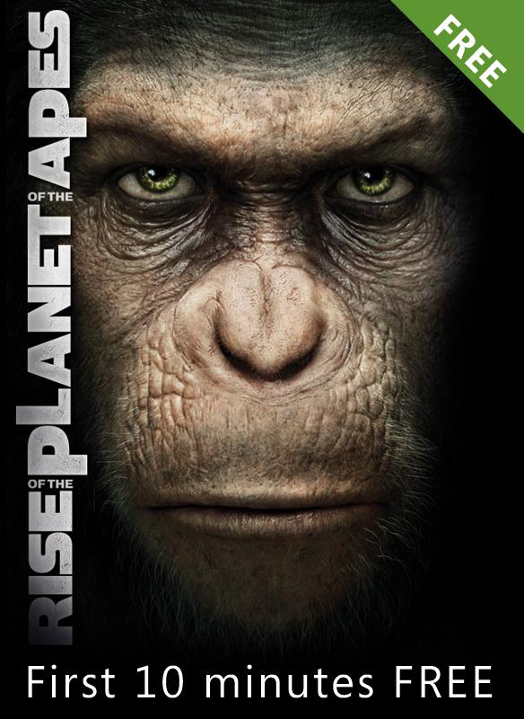 Planet der Affen: Prevolution (kostenlose 10 Minuten Vorschau) stream