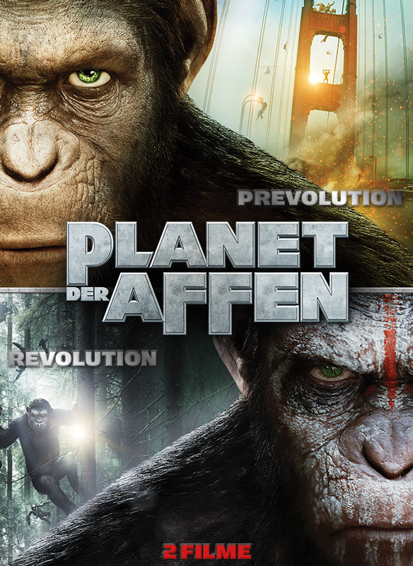 Planet der Affen: Prevolution & Planet der Affen – Revolution stream
