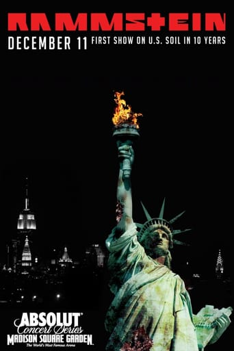 Rammstein: in Amerika - Live from Madison Square Garden stream