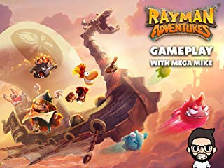 Rayman Adventures Gameplay With Mega Mike stream