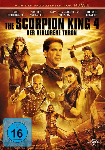 Scorpion King 4: Der verlorene thron - stream