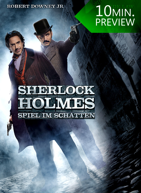 Sherlock Holmes: Spiel im Schatten (10 Min. Preview) stream