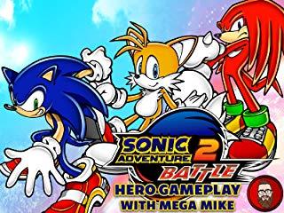 Sonic Adventure 2 Battle Hero Gameplay with Mega Mike Stream