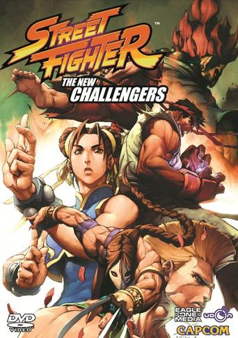 Street Fighter: The New Challengers stream