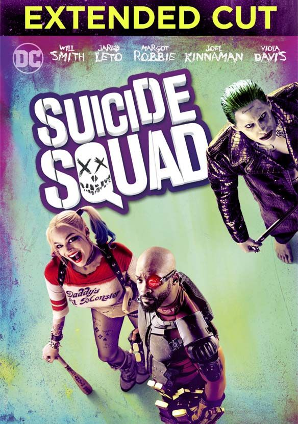 Suicide Squad Extended Cut stream