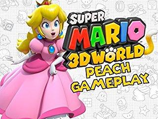 Super Mario 3D World Peach Gameplay stream