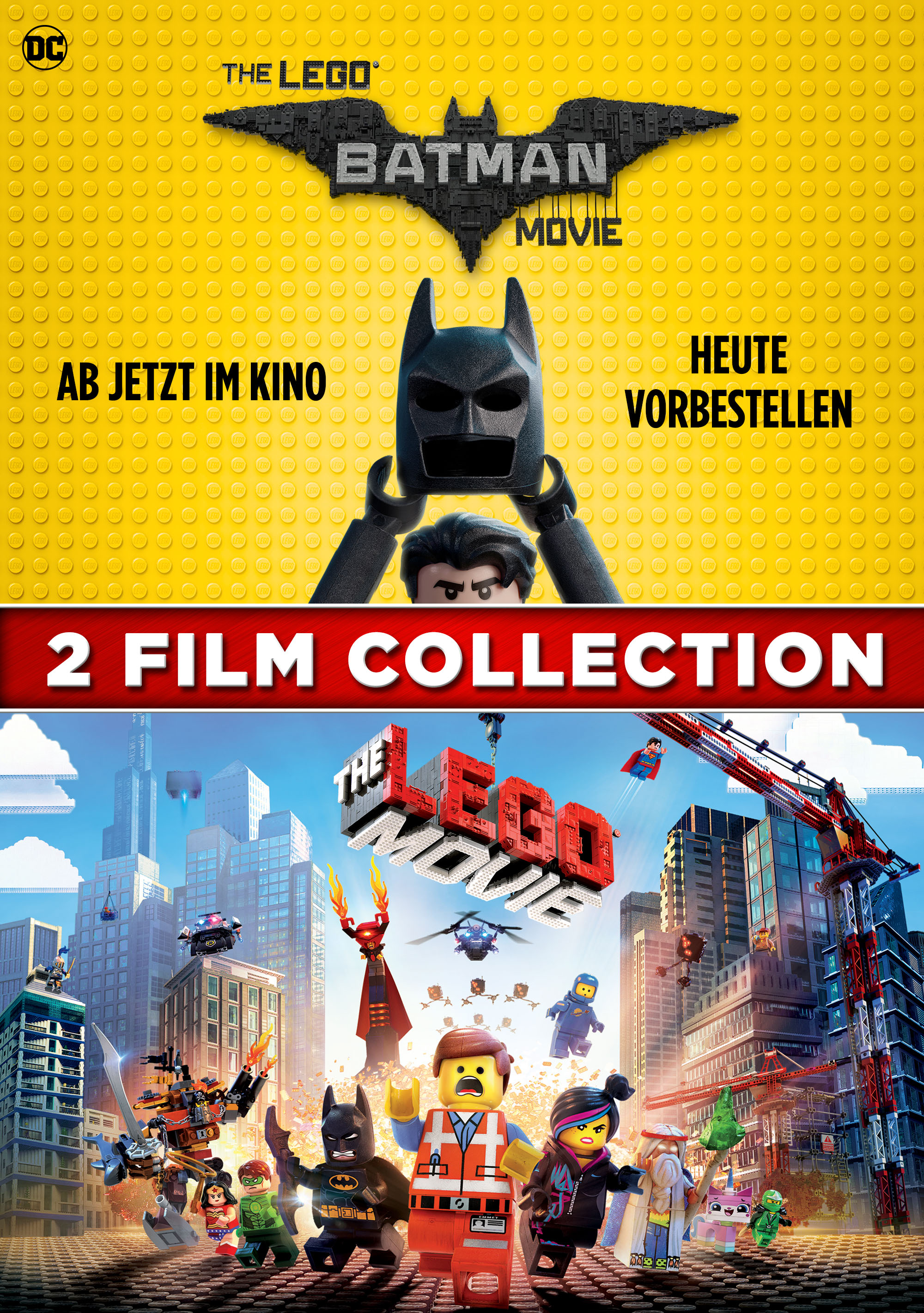 The LEGO Batman Movie/The LEGO Movie 2 Film Collection stream