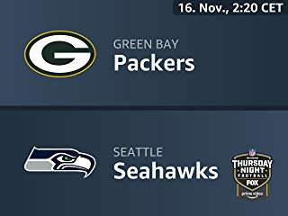 Thursday Night Football live services internal testing : Green Bay Packers vs. Seattle Seahawks 2018-10-19T17:03:02Z Stream