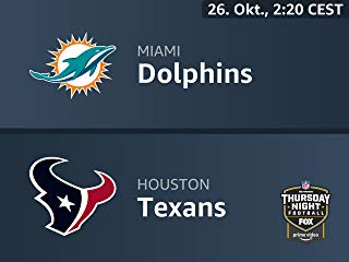 Thursday Night Football live services internal testing : Miami Dolphins vs. Houston Texans 2018-09-15T07:03:01Z Stream