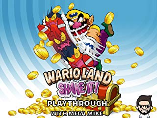 Wario Land Shake It Playthrough With Mega Mike stream