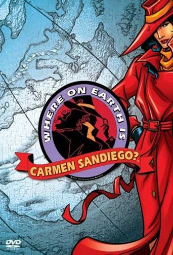Where On Earth is Carmen Sandiego stream