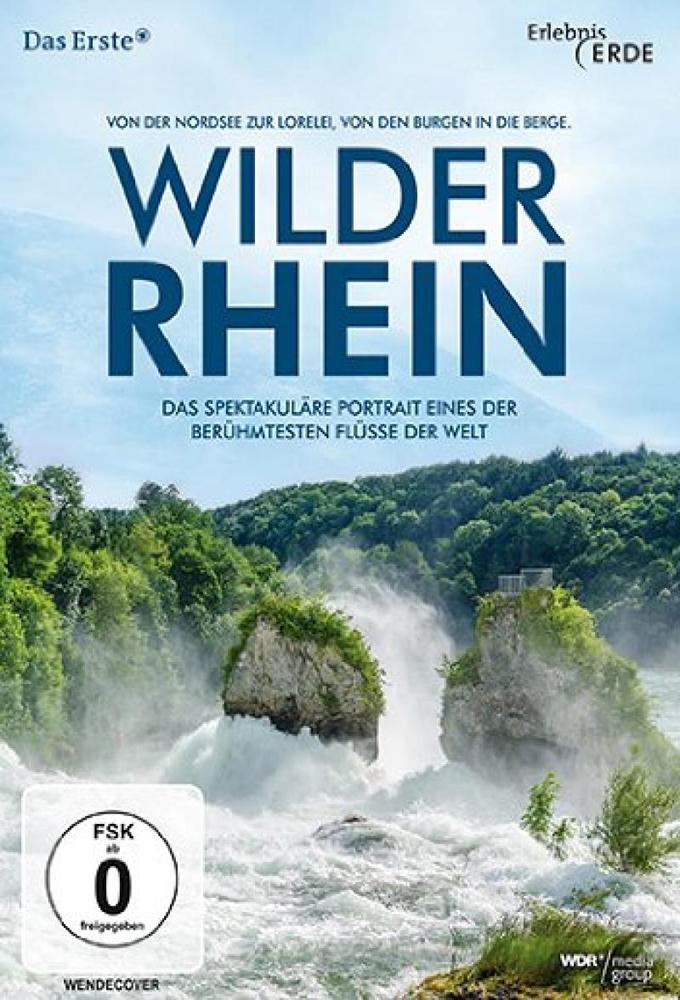Wilder Rhein stream