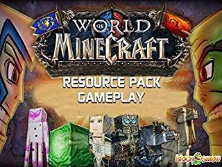 World Of Minecraft Resource Pack Gameplay stream