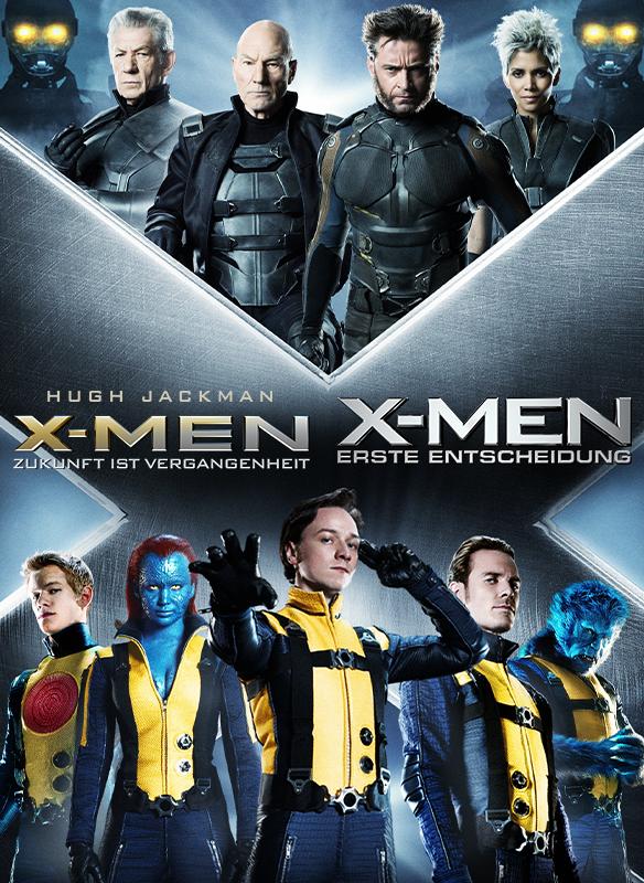 X-Men – Erste Entscheidung & X-Men – Zukunft ist Vergangenheit stream