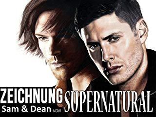 Zeichnung Sam & Dean von Supernatural stream