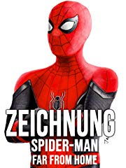 Zeichnung Spider-Man Far From Home stream