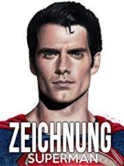 Zeichnung Superman stream