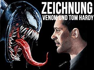 Zeichnung Venom und Tom Hardy Stream