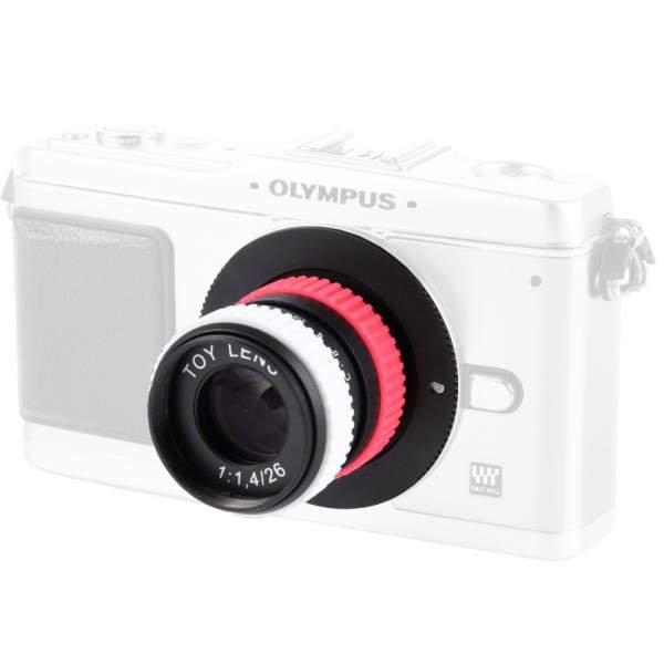 SLR Magic 26/1,4 CSC Toy Lens MFT bunt