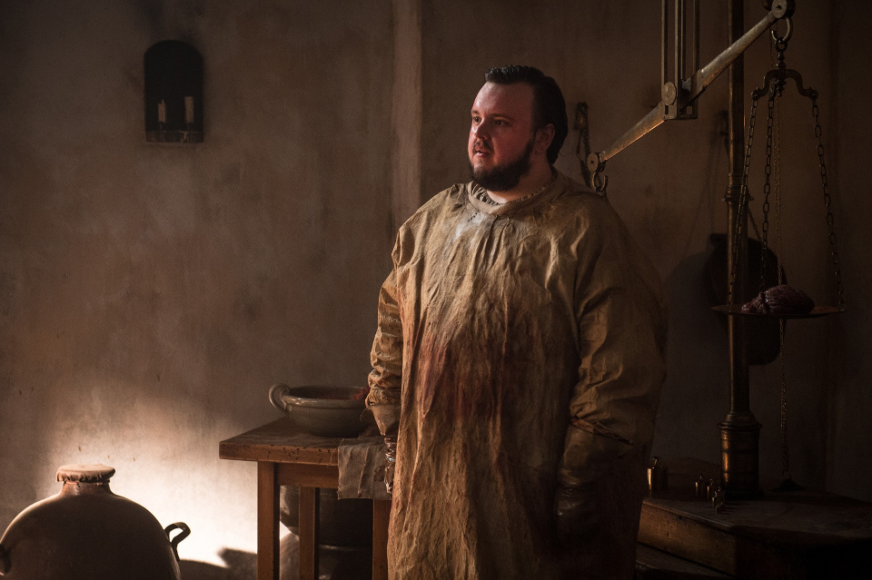 John Bradley as Samwell Tarly in Game of Thrones. Photo: HBO