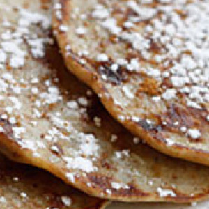 Banana Fritters with Butter Bake
