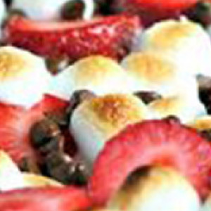 Cabin Strawberry S'mores