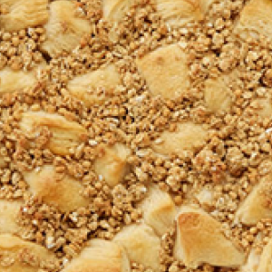 Caramel Apple Crunch Breakfast Bake