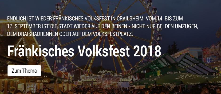 Volksfest Crailsheim 2018