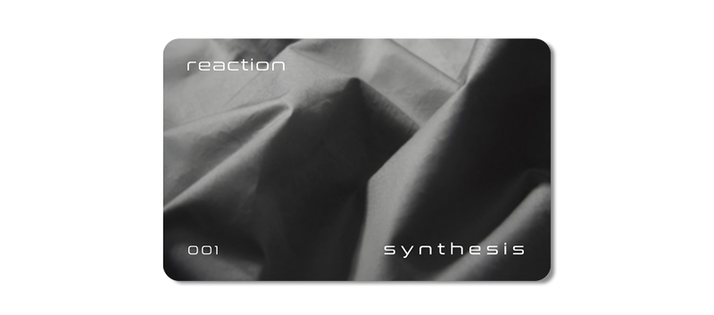 REACTION Card in SYNTHESIS Concept Store