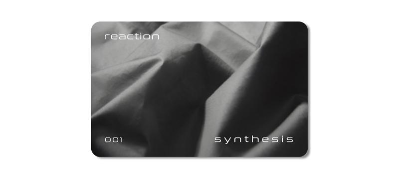Карта лояльности REACTION в концептуальном онлайн-магазине SYNTHESIS