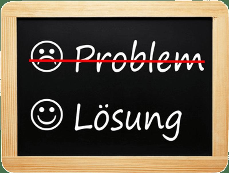 Probleme werden zu Lösungen