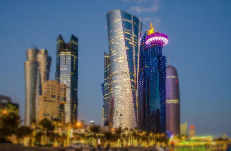 مستشفيات قطر